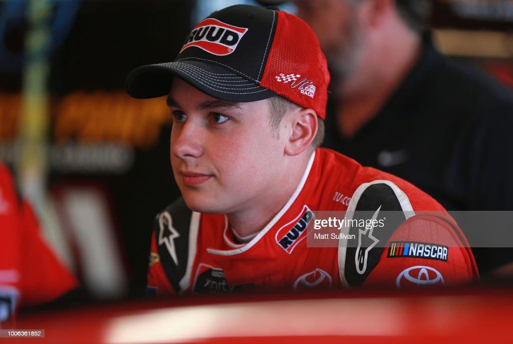 NASCAR Xfinity Series U.S. Cellular 250 Presented by Rasmussen Group - Practice : News Photo