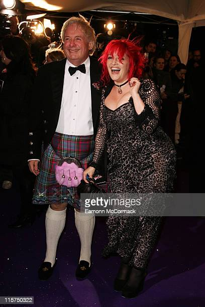 Christopher Biggins and Jane Goldman arrive at the British Comedy Awards 2007 at the London Television Studios on December 5th 2007 in London England