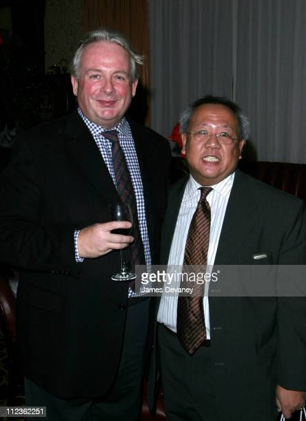 Christopher Biggins and Luis Valero of American Cancer Society