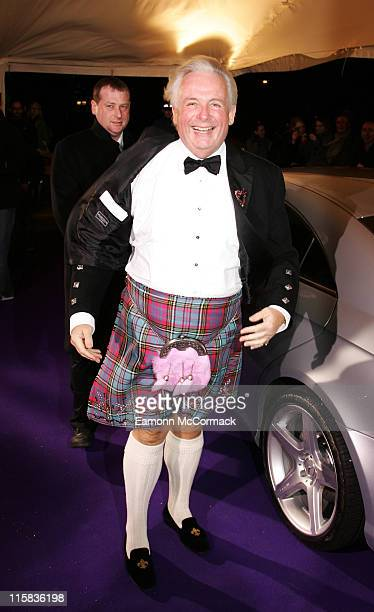 Christopher Biggins arrives at the British Comedy Awards 2007 at the London Television Studios on December 5th 2007 in London England