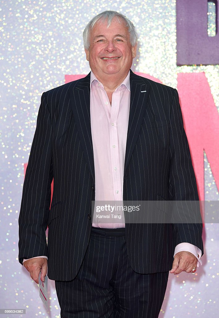 Christopher Biggins arrives for the World premiere of 'Bridget Jones's Baby' at Odeon Leicester Square on September 5, 2016 in London, England.