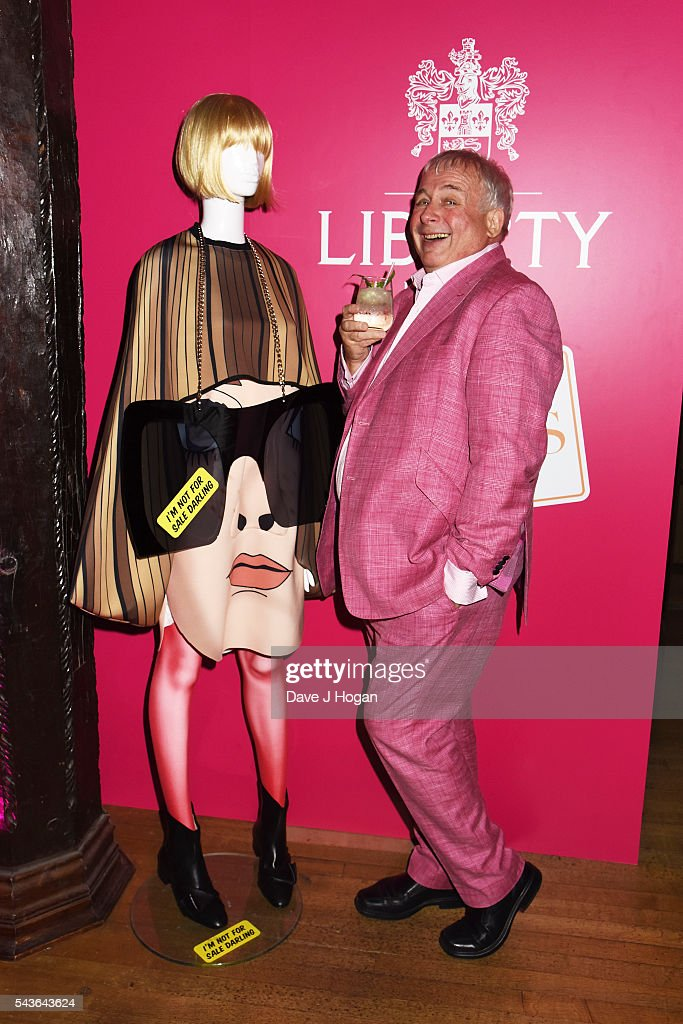 Christopher Biggins attends the after party of the world premiere of 'Absolutely Fabulous: The Movie' at Liberty on June 29, 2016 in London, England.