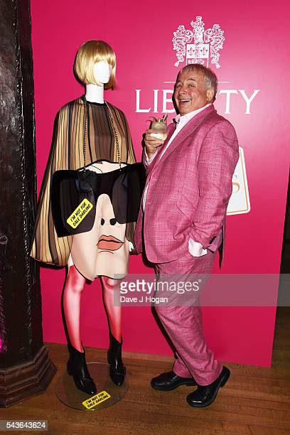 Christopher Biggins attends the after party of the world premiere of 'Absolutely Fabulous The Movie' at Liberty on June 29 2016 in London England