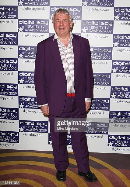 Christopher Biggins attends the Digital Spy Reality TV Awards at the Victoria House on April 6 2009 in London England