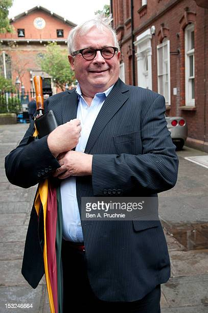 Christopher Biggins attends the memorial service for Victor Spinetti at St Paul's Church on October 2 2012 in London England