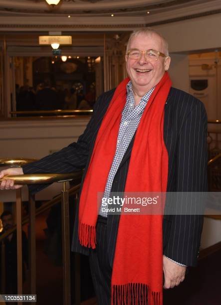 Christopher Biggins attends the press night performance of Madam Butterfly part of the English National Opera's 2019/20 season at The London Coliseum...