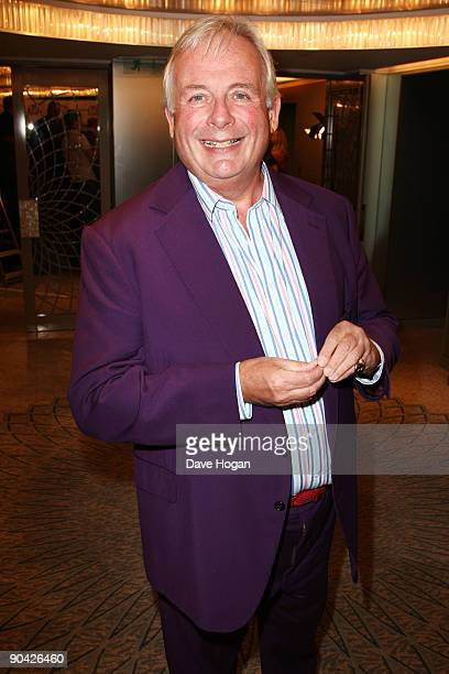 Christopher Biggins attends the TV Quick TV Choice Awards champagne reception held at The Dorchester on September 7 2009 in London England