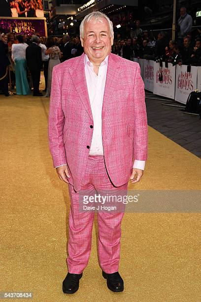 Christopher Biggins attends the World Premiere of 'Absolutely Fabulous The Movie' at Odeon Leicester Square on June 29 2016 in London England