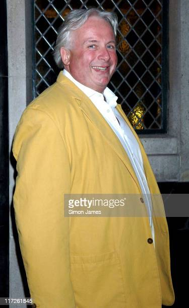 Christopher Biggins during Celebrity Sightings at The Ivy May 4 2006 at The Ivy in London Great Britain