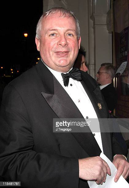Christopher Biggins during 'One Knight Only' March 20 2005 at Theatre Royal in London United Kingdom