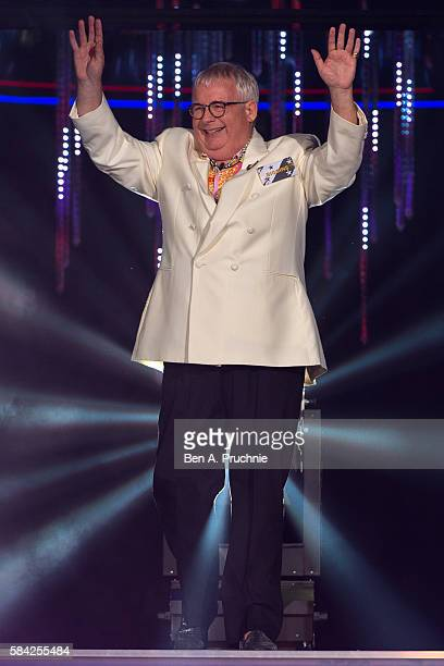 Christopher Biggins enters the Big Brother House as Celebrity Big Brother launches at Elstree Studios on July 28 2016 in Borehamwood England