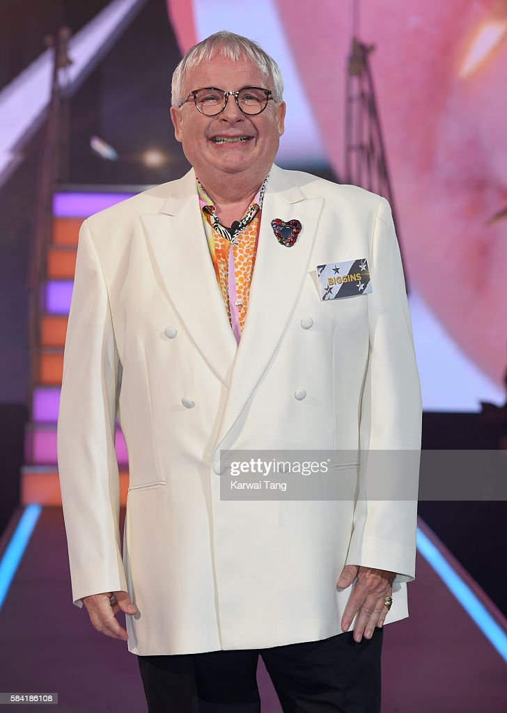 Christopher Biggins enters the Big Brother House for the Celebrity Big Brother launch at Elstree Studios on July 28, 2016 in Borehamwood, England.