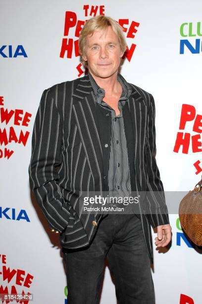 Christopher Burgan attends The Pee Wee Herman Show Opening Night at Club Nokia on January 20 2010 in Los Angeles California