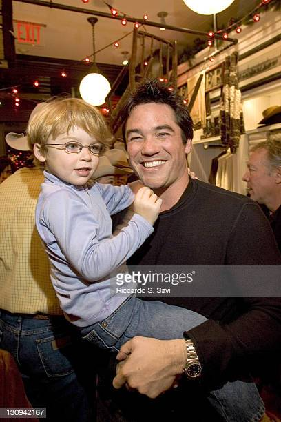 Christopher Cain and Dean Cain during Aspen Peak at the Opening of The New Ralph Lauren Aspen Store at The New Ralph Lauren store in Aspen in Aspen...