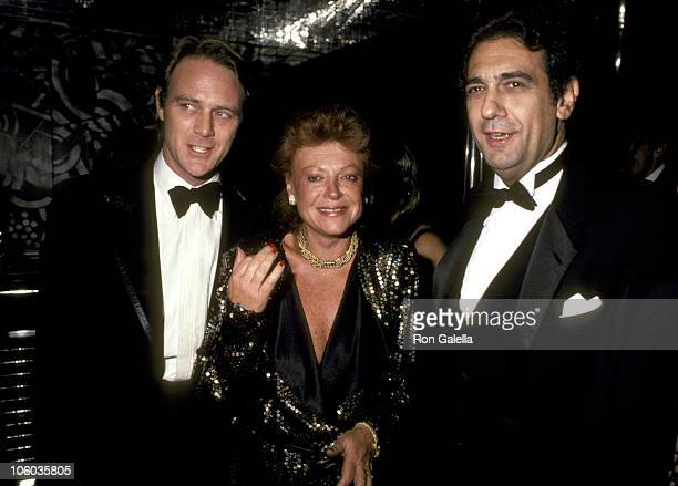Christopher Cazenove Regine and Placido Domingo Heat Dust New York City Premiere After Party