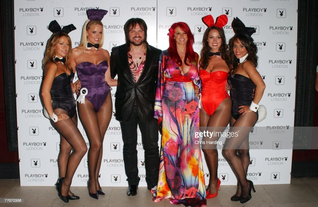 Playboy London Flagship Store Launch : News Photo