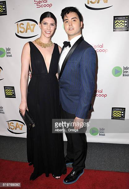 Christopher Chwee at the 7th Annual Indie Series Awards held at El Portal Theatre on April 6 2016 in North Hollywood California