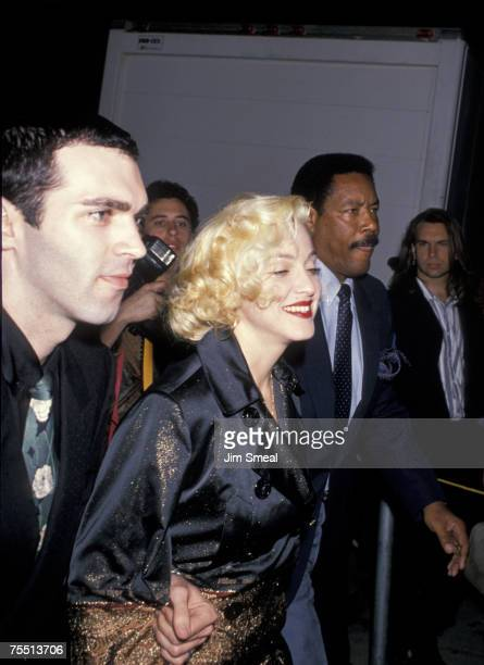 Christopher Ciccone and Madonna at the Park Plaza Hotel in Los Angeles California