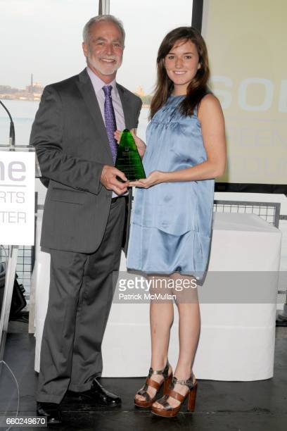Christopher Collins and Kick Kennedy attend SOLAR 1's Revelry By The River Honors MATTHEW MODINE KICK KENNEDY HSBC at Stuyvesant Cove on June 2 2009...
