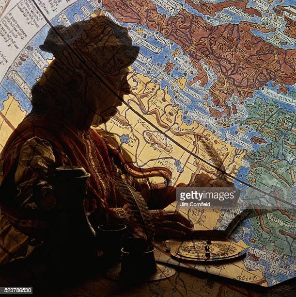 Christopher Columbus and Globe