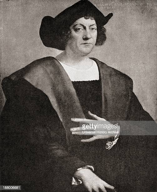Christopher Columbus C1451 To 1506 Italian Navigator Colonizer And Explorer From The Great Explorers Columbus And Vasco Da Gama