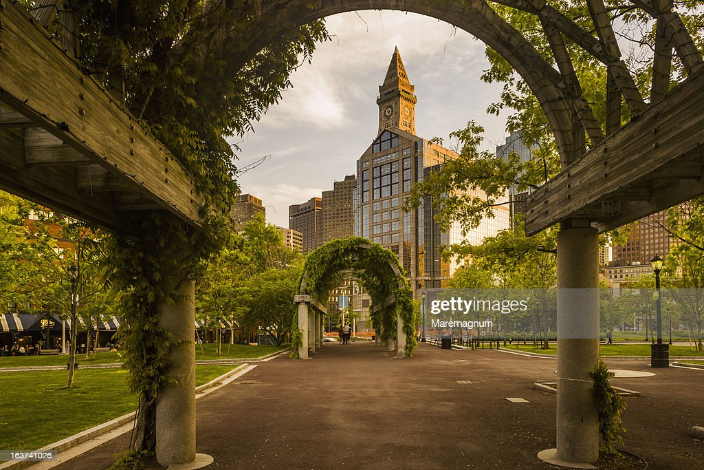 Christopher Columbus Waterfront Park : Stock Photo