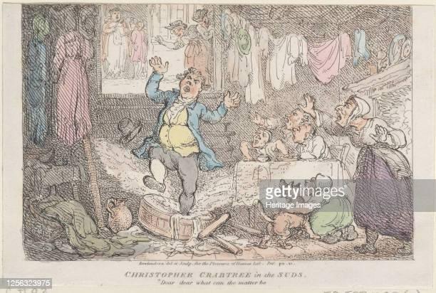 Dear dear what can the matter be 1807 Artist Thomas Rowlandson