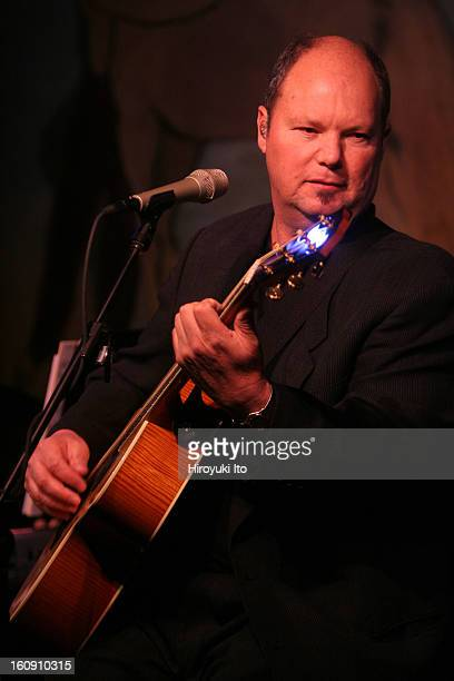 Christopher Cross performing at the Cafe Carlyle on Tuesday night April 15 2008