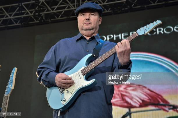 Christopher Cross performs during Remind GNP at Parque Bicentenario on March 7 2020 in Mexico City Mexico
