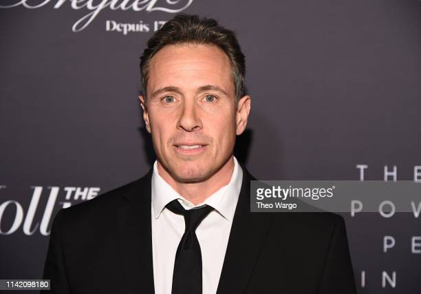 Christopher Cuomo attends the The Hollywood Reporter's 9th Annual Most Powerful People In Media at The Pool on April 11 2019 in New York City
