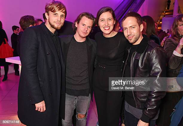 Christopher de Vos Christopher Kane Emilia Wickstead and Peter Pilotto attend a private view of 'Vogue 100 A Century of Style' hosted by Alexandra...