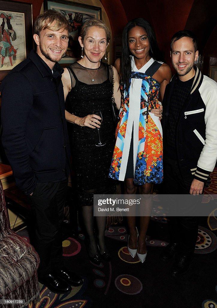 Harper's Bazaar London Fashion Week Closing Party : News Photo