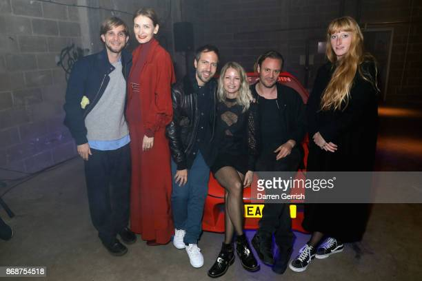 Christopher De Vos Roksanda Ilincic Peter Pilotto Holli Rogers Nicholas Kirkwood and Molly Goddard attend Browns east launch party at 1a Chance...