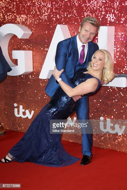 Christopher Dean and Jayne Torvill arrive at the ITV Gala held at the London Palladium on November 9 2017 in London England