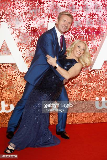 Christopher Dean and Jayne Torvill arriving at the ITV Gala held at the London Palladium on November 9 2017 in London England
