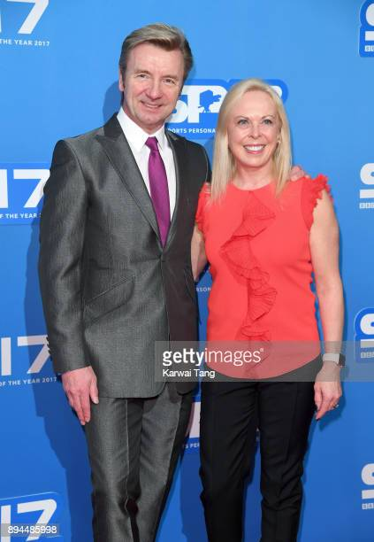 Christopher Dean and Jayne Torvill attend the BBC Sports Personality of the Year 2017 Awards at the Echo Arena on December 17 2017 in Liverpool...