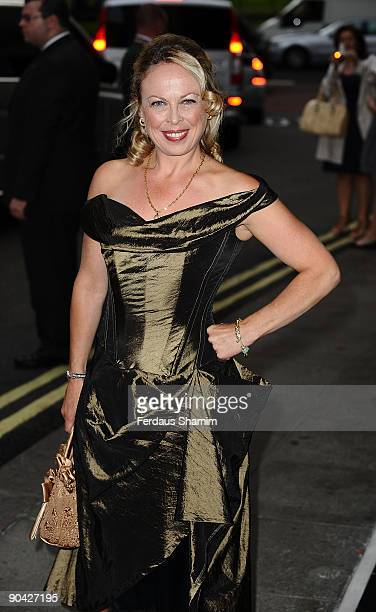 Christopher Dean and Jayne Torvill attend the TV Quick Tv Choice Awards at the The Dorchester Hotel on September 7 2009 in London England