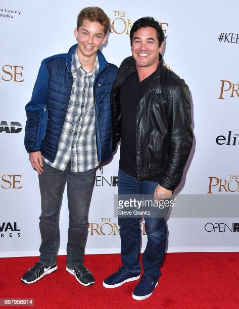 "Christopher Dean Cain, Dean Cain arrives at the Premiere Of Open Road Films' ""The Promise"" at TCL Chinese Theatre on April 12, 2017 in Hollywood,..."
