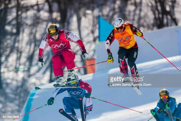 Christopher Delbosco of Canada competes Sergey Ridzik of Russia takes 3rd place Francois Place of France competes Siegmar Klotz of Italy competes...