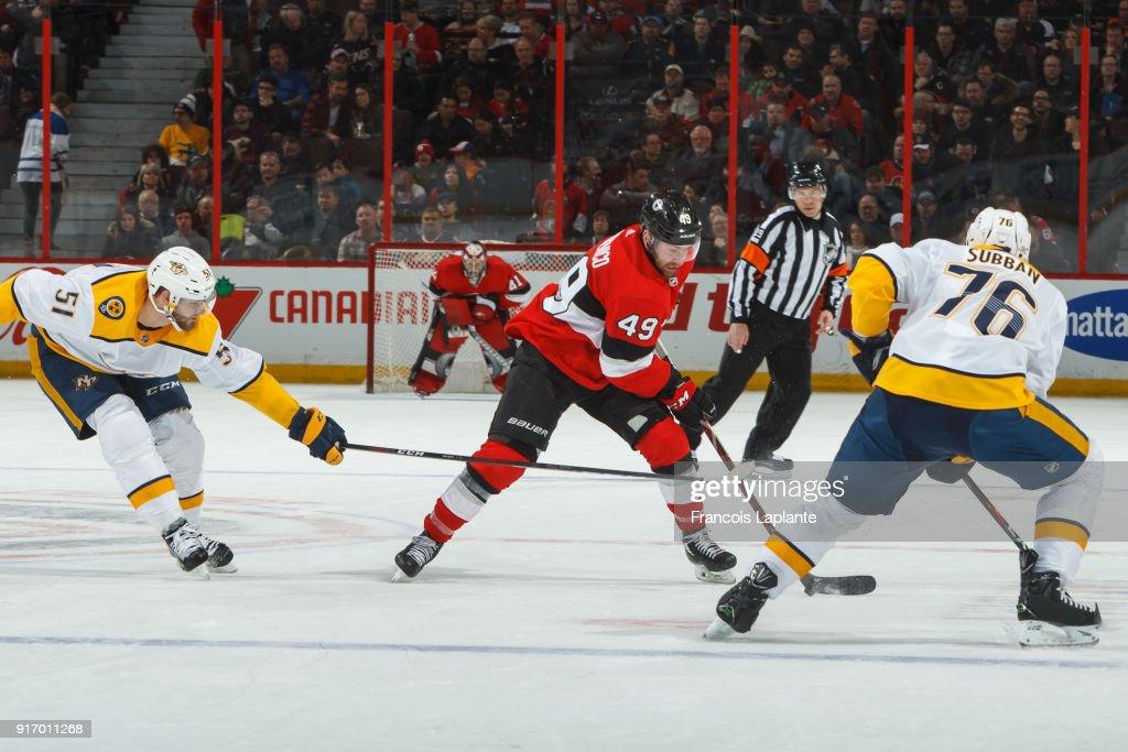 Nashville Predators v Ottawa Senators
