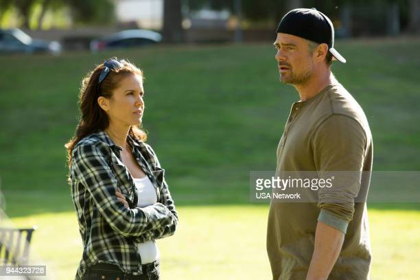 G Christopher Episode 109 Pictured Laurie Fortier as Donna Kading Josh Duhamel as Detective Greg Kading