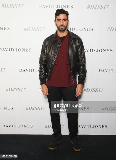 Christopher Esber arrives ahead of the David Jones Spring Summer 2017 Collections Launch at David Jones Elizabeth Street Store on August 9 2017 in...