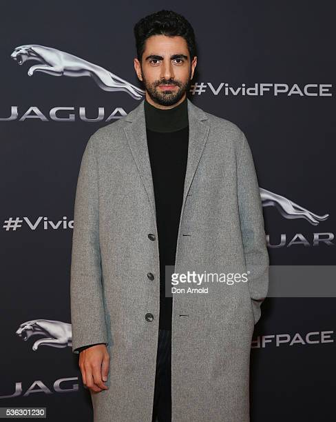 Christopher Esber poses during a Jaguar event at The Mint on June 1 2016 in Sydney Australia