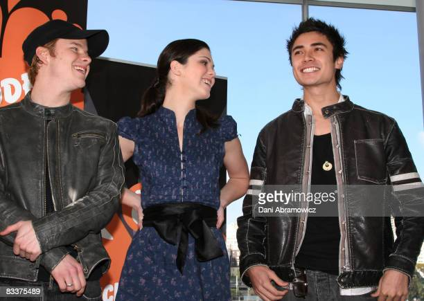 """Christopher Foy, Kate Bell and Adam Saunders of """"Blue Water High"""""""