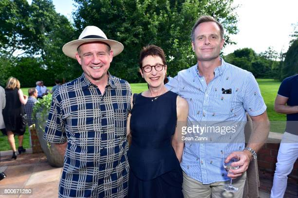 Christopher France Terrie Sultan and Adam Morris attend Maison Gerard Presents Marino di Teana A Lifetime of Passion and Expression at Michael Bruno...