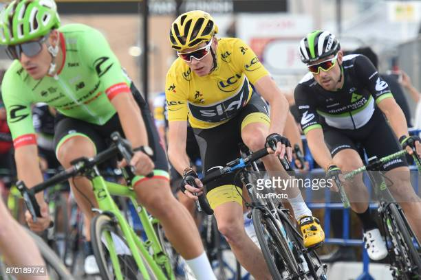 Christopher FROOME in action during 589km Main Race of the 5th edition of TDF Saitama Criterium 2017 On Saturday 4 November 2017 in Saitama Japan