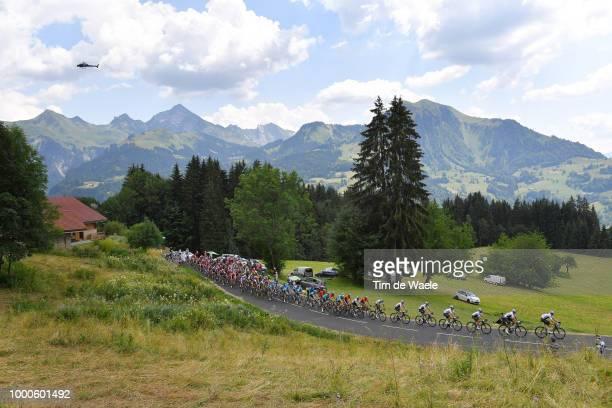 Christopher Froome of Great Britain and Team Sky / Col De La Croix Fry / Peloton / Landscape / Mountains / during the 105th Tour de France 2018 /...