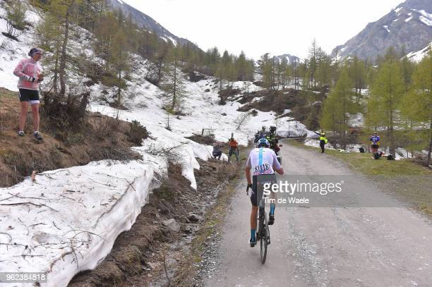 Christopher Froome of Great Britain and Team Sky / Colle Delle Finestre during the 101st Tour of Italy 2018 Stage 19 a 185km stage from Venaria Reale...
