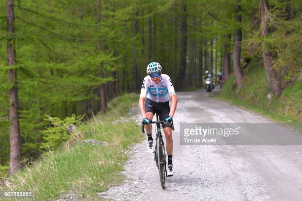 Christopher Froome of Great Britain and Team Sky / during the 101st Tour of Italy 2018 Stage 19 a 185km stage from Venaria Reale to Bardonecchia...
