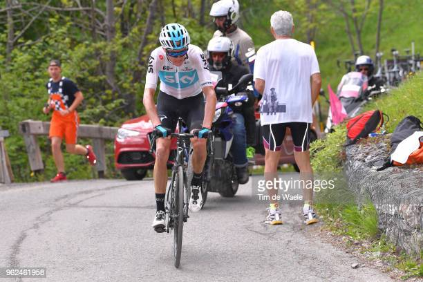 Christopher Froome of Great Britain and Team Sky / during the 101st Tour of Italy 2018, Stage 19 a 185km stage from Venaria Reale to Bardonecchia -...